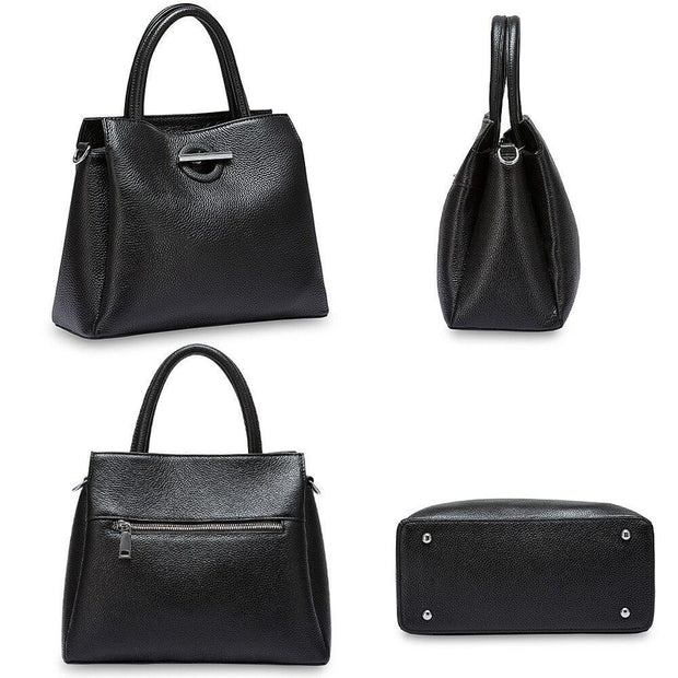 Sleek Genuine Leather Hand Bag For Women-Sevenedge Perfect Gifts