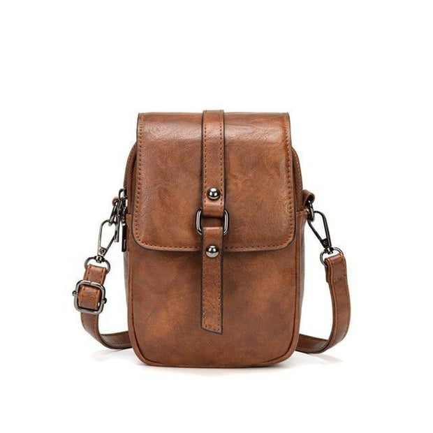 Small Leather Shoulder Bag-Sevenedge Perfect Gifts