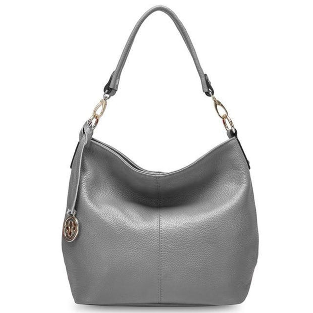 Spacious Leather Shoulder Bag-Sevenedge Perfect Gifts