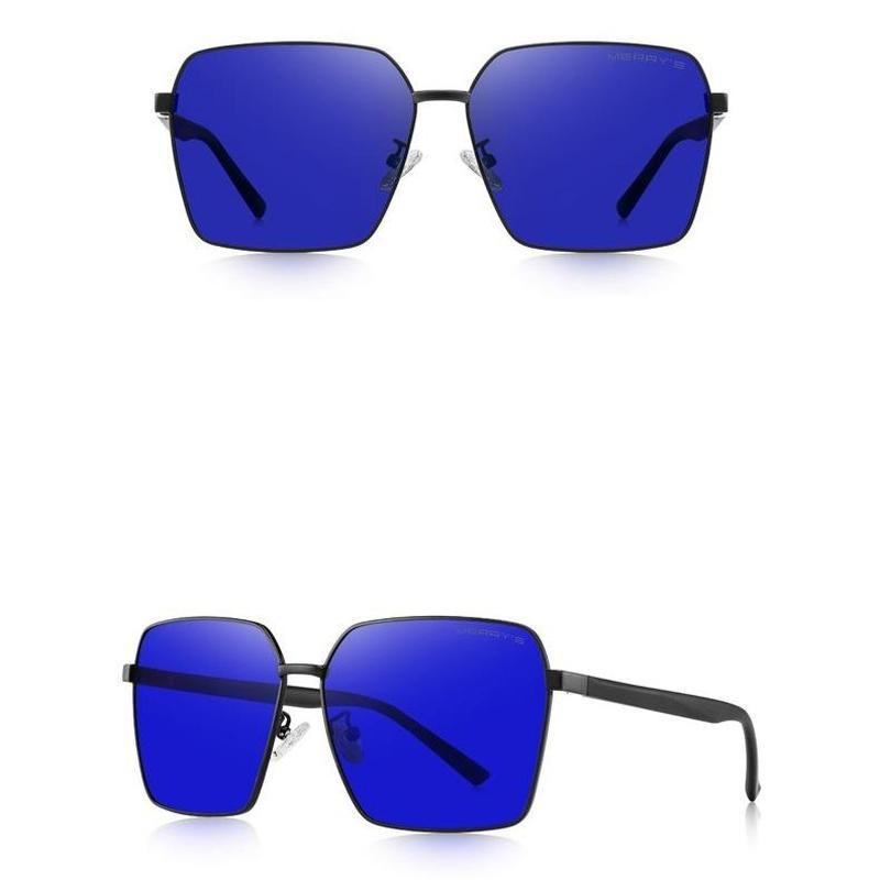 Stylish Square Polarized Sunglasses For Men-Sevenedge Perfect Gifts