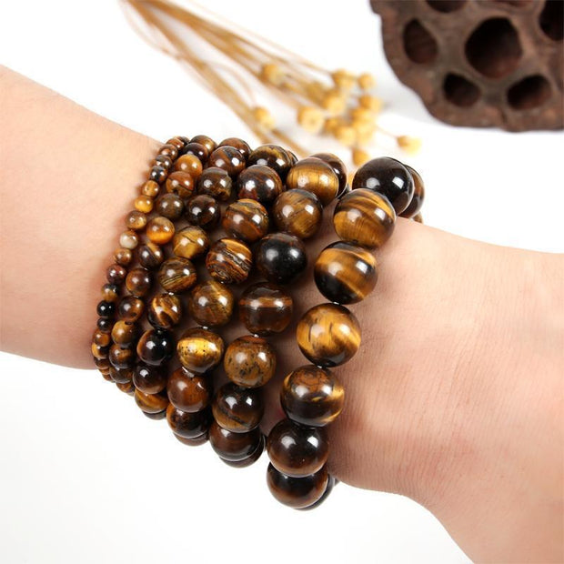 Tiger Eye - Bead Healing Bracelet-Sevenedge Perfect Gifts
