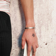 Unisex Silver Cuff Bracelet-Sevenedge Perfect Gifts