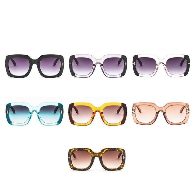Vintage Square Sunglasses-Sevenedge Perfect Gifts