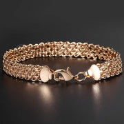 Wide Copper Chunky Bracelet For Women-Sevenedge Perfect Gifts