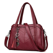 Women's Genuine Leather Tote Bag-Sevenedge Perfect Gifts