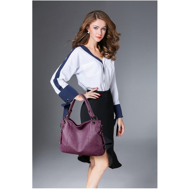 Women's Simple Genuine Leather Bag-Sevenedge Perfect Gifts