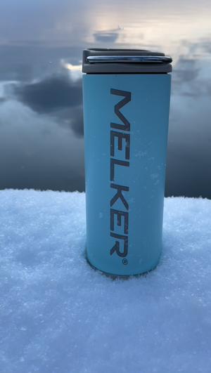 Vacuum insulated thermos / mug from Melker (473 ml)