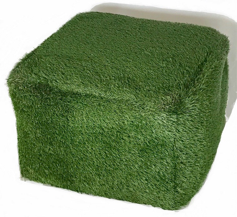 Turf Outdoor Ottoman, Square