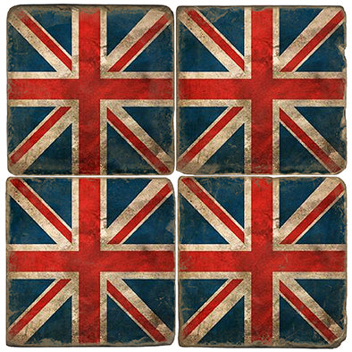 Stone Tile Coaster: Union Jack