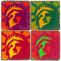 Stone Tile Coaster: Lady Liberty