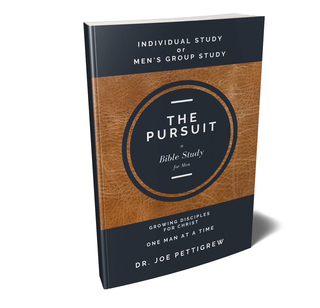 The Pursuit Book by Dr. Joe Pettigrew