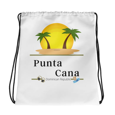 Drawstring Punta Cana Sunset bag - THE PLUG