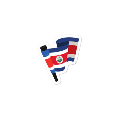 Costa Rica Flag stickers - THE PLUG