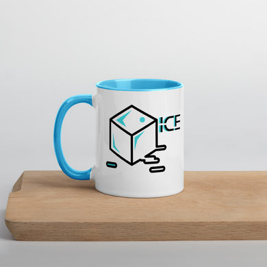 Ice Brand, Mug with Color Inside - THE PLUG