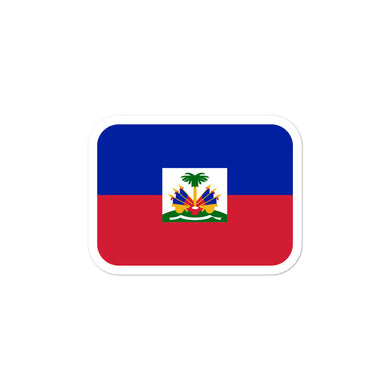 The Haitian Flag stickers - THE PLUG