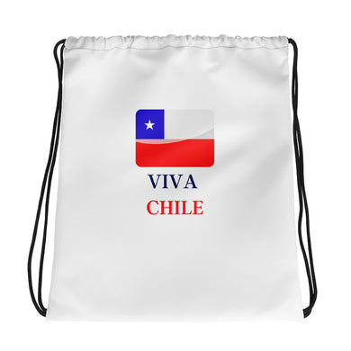 Drawstring Viva Chile bag - THE PLUG