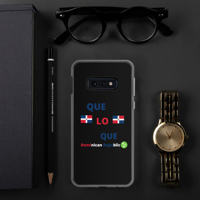 Que Lo Que RD - Samsung Case - THE PLUG