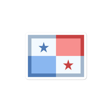 Panama Flag stickers - THE PLUG