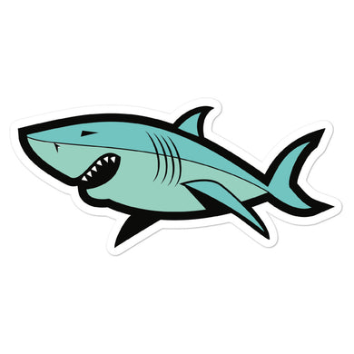 Shark Sticker - THE PLUG
