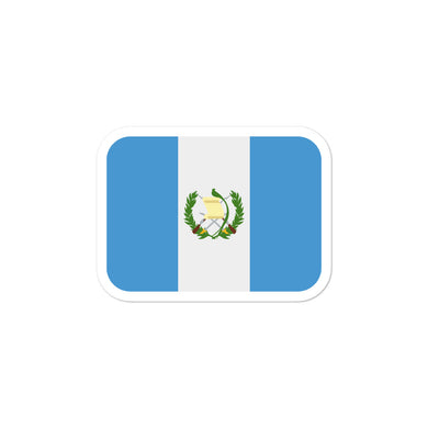 Guatemala Flag stickers - THE PLUG