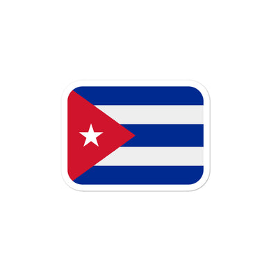 Cuba flag stickers - THE PLUG