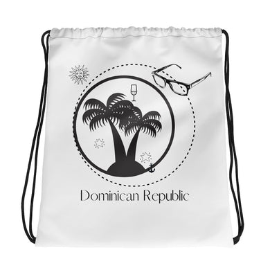 Drawstring Dominican Republic bag - THE PLUG
