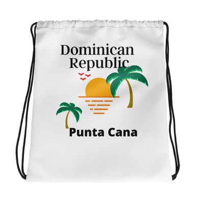 Drawstring Punta Cana Sunrise bag - THE PLUG