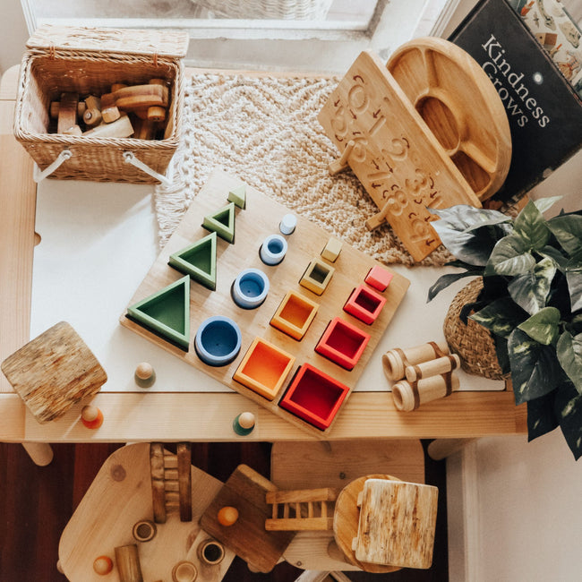 3D Sorting and Nesting Board