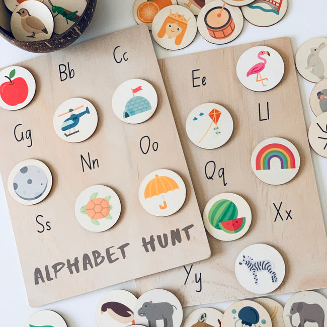 Alphabet Hunt MEGA Pack