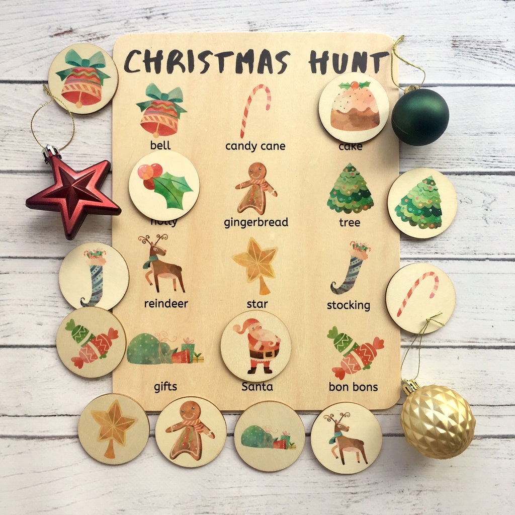 Christmas Hunt Activity Board Set
