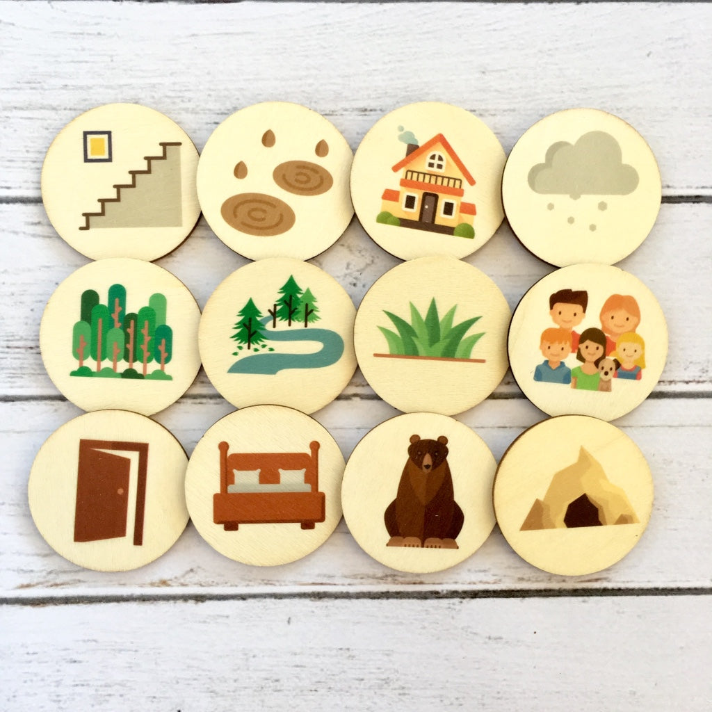 Bear Hunt Story Teller Set