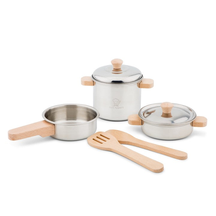 Metal Pan Cooking Set