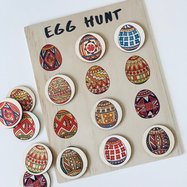 Egg Hunt Activity Board Set