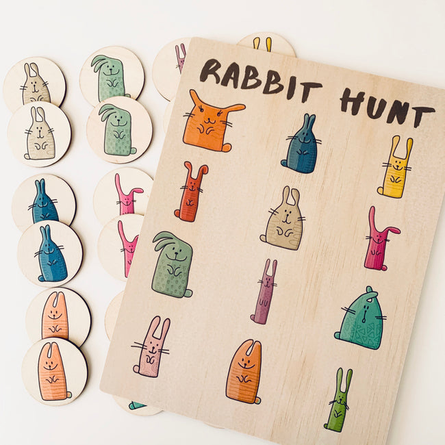Rabbit Hunt and Memory Match Pack