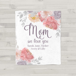 Blushing Blooms Personalized Gift for Mom