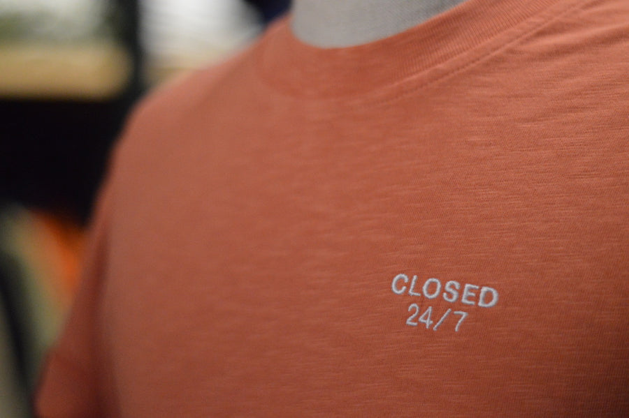 Closed 24/7 t-shirt 315 Grapefruit