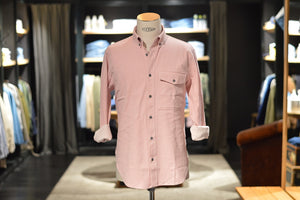 Closed Relaxed Button Down Shirt 828 Soft Pink