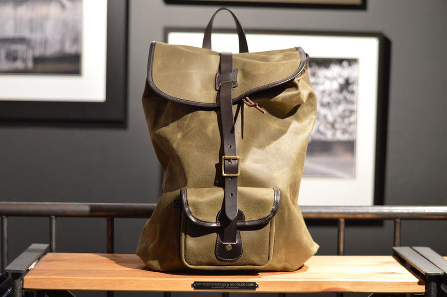 Croots England Canvas Backpack