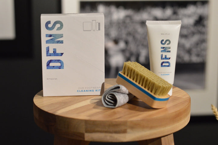 DFNS Footwear Cleaner Kit; 90ml Gel, Brush & Towel