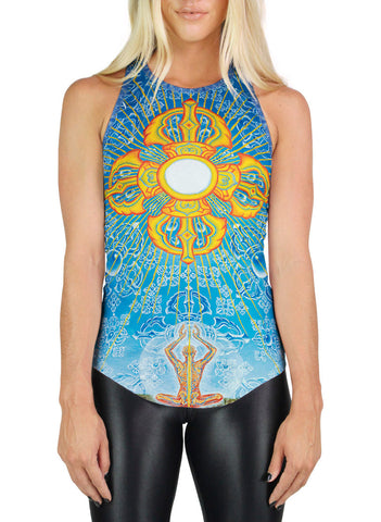 Nature Of Mind Racerback Tank