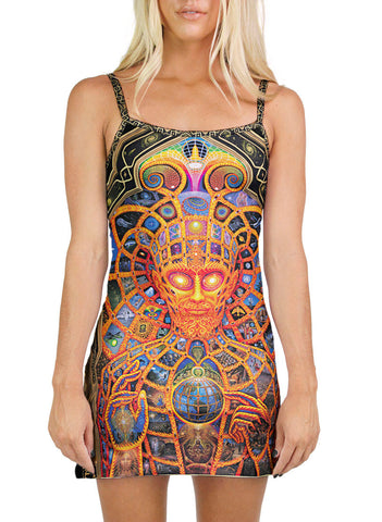 Cosmic Christ Mini Dress