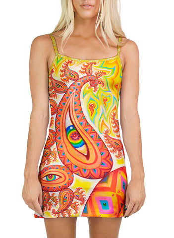 PSYCHOMICROGRAPH MINI DRESS