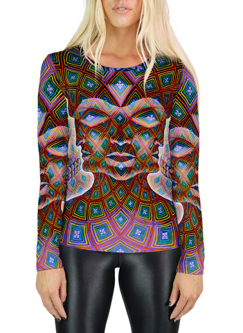 Vajra Being Womens Long Sleeve