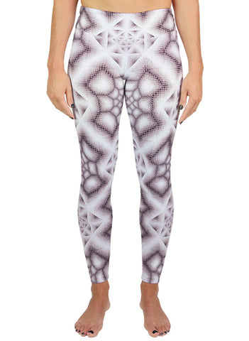 INK WASH GREY ACTIVE LEGGINGS