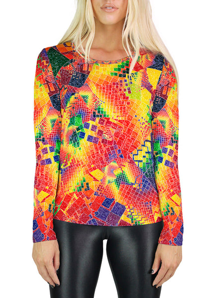 Chaos Womens Long Sleeve