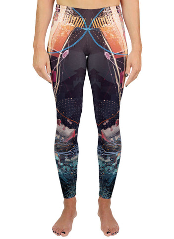 Light Field Rendering Active Leggings