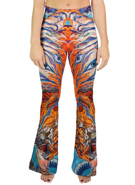 Tiger Swallow Tail Bell Leggings