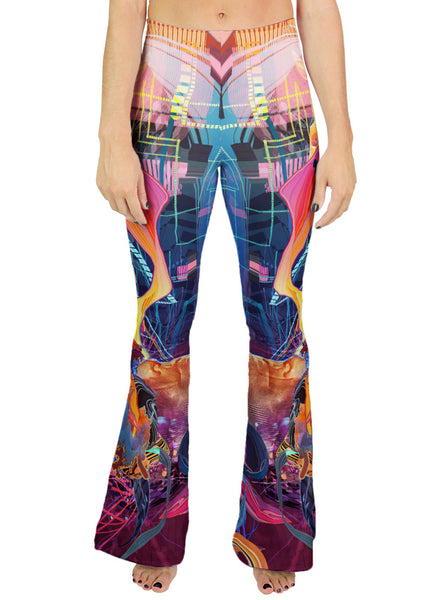 Brave New Vr World Bell Leggings