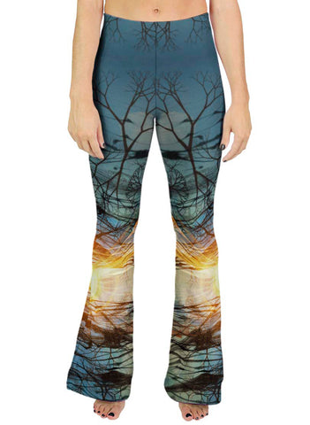 December Solstice Bell Leggings