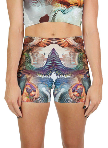 Dharma Dragon Active Shorts